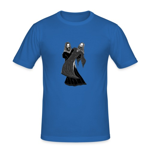 novios - Camiseta ajustada hombre