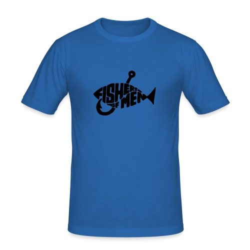 Fishers - Maglietta aderente da uomo