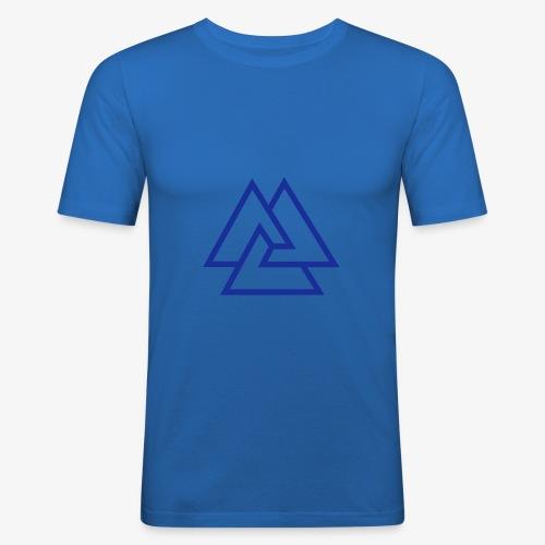 Knoten - Männer Slim Fit T-Shirt