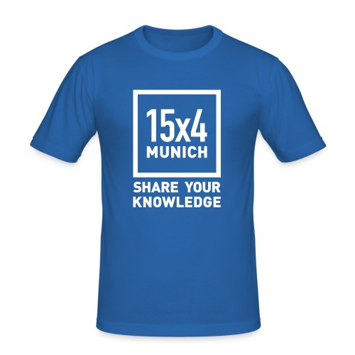 Share your knowledge - Männer Slim Fit T-Shirt