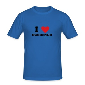 I love duodenum! - Slim Fit T-skjorte for menn
