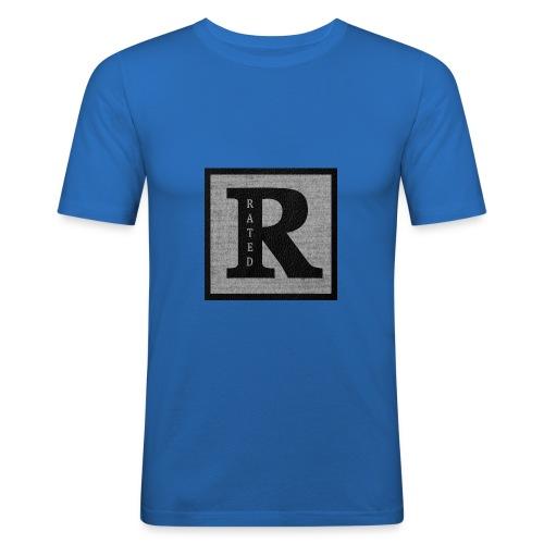 RaTeD R t-shirt - Men's Slim Fit T-Shirt