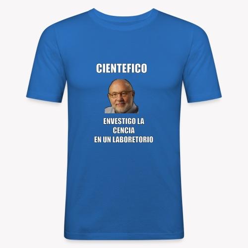 Cientefico twitter - Camiseta ajustada hombre