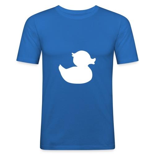 Quacky McVuxen - Männer Slim Fit T-Shirt