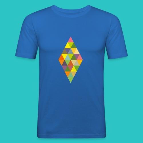 Rhombus - Männer Slim Fit T-Shirt