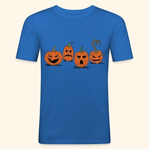 Pumpkin gear - Pumpkin gear on Halloween - Men's Slim Fit T-Shirt