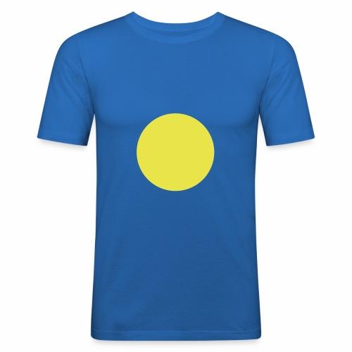 Blue blob - T-shirt près du corps Homme