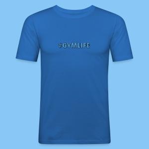 #GYMLIFE T SHIRT - Men's Slim Fit T-Shirt