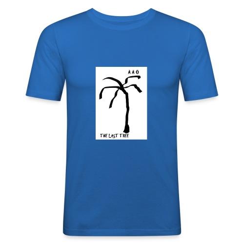 Draw-palm-black- - Slim Fit T-shirt herr