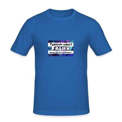 Falux Kanalbanner - Männer Slim Fit T-Shirt