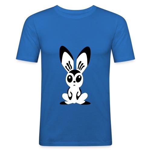 FranziBunny - Männer Slim Fit T-Shirt
