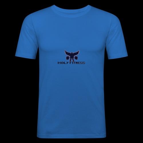 Logo 1 Holy fitness nouvelle génération - T-shirt près du corps Homme