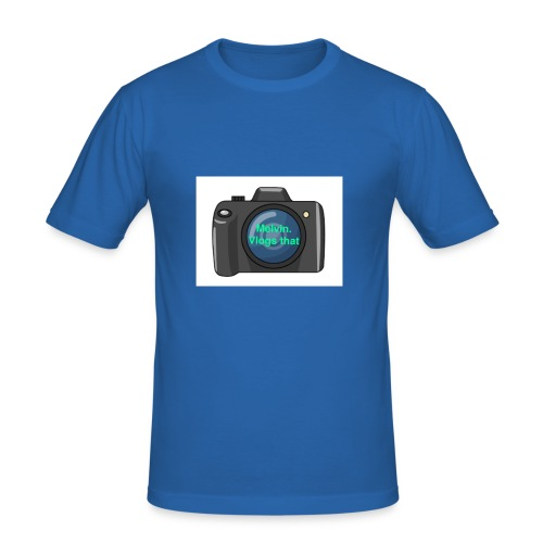 Melvin vlogs that merch - Men's Slim Fit T-Shirt