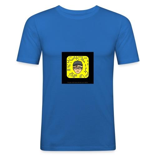 Mr.Lightning Snapcode - Männer Slim Fit T-Shirt
