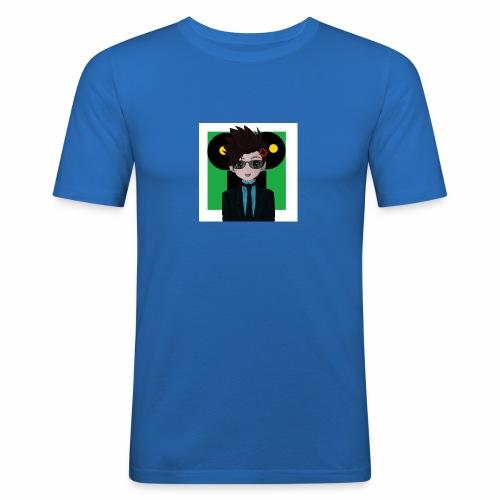 Darki - Männer Slim Fit T-Shirt