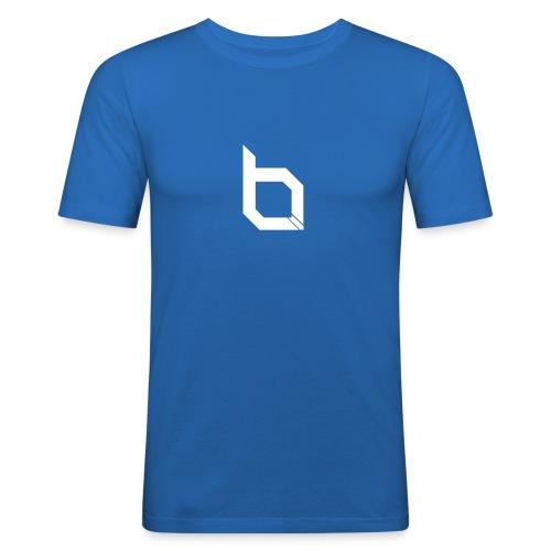 Broken Logo - Männer Slim Fit T-Shirt