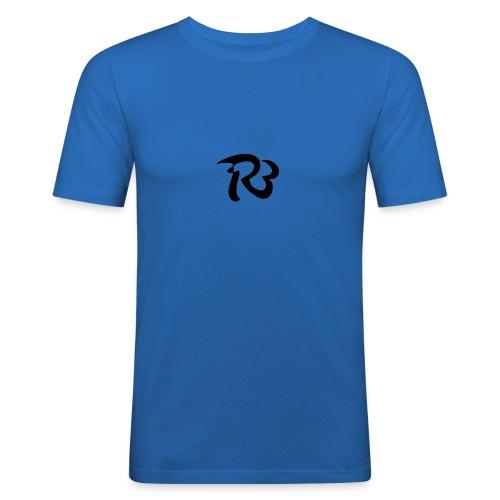R3 MILITIA LOGO - Men's Slim Fit T-Shirt