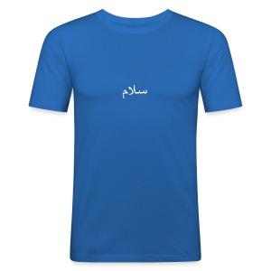 سلام - Slim Fit T-skjorte for menn