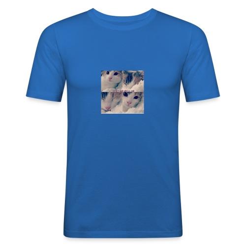 Katze - Männer Slim Fit T-Shirt