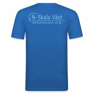nskalavast - Slim Fit T-shirt herr