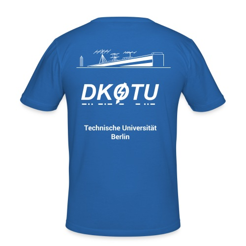 DK0TU Template Test 1 - Männer Slim Fit T-Shirt