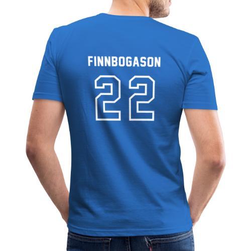 2-2 Finnbogason - Herre Slim Fit T-Shirt