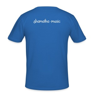 Shamatha Music - Männer Slim Fit T-Shirt