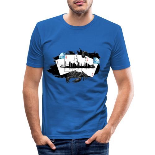 HHskyline - Männer Slim Fit T-Shirt
