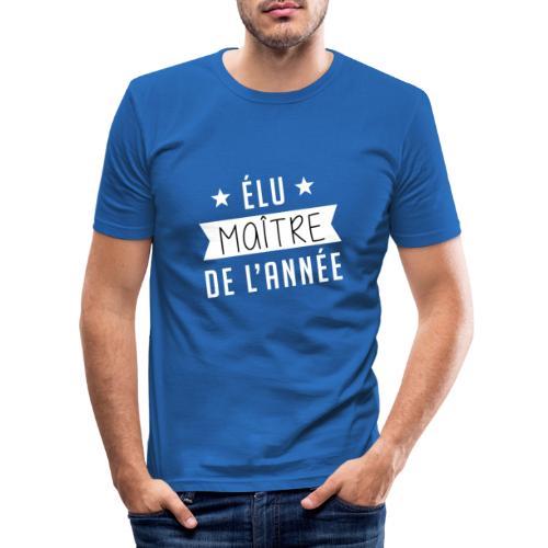 Elu maitre de l'année - T-shirt près du corps Homme