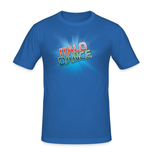 ITALODANCE Original - Men's Slim Fit T-Shirt