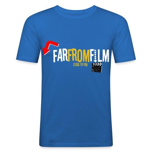 FarFromFilm FB 1 wht - Men's Slim Fit T-Shirt
