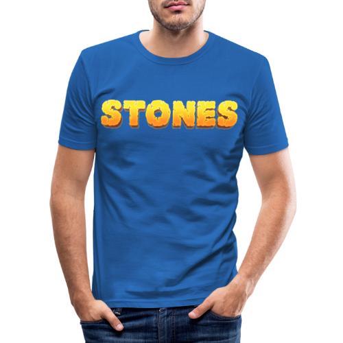 Stones - Slim Fit T-shirt herr