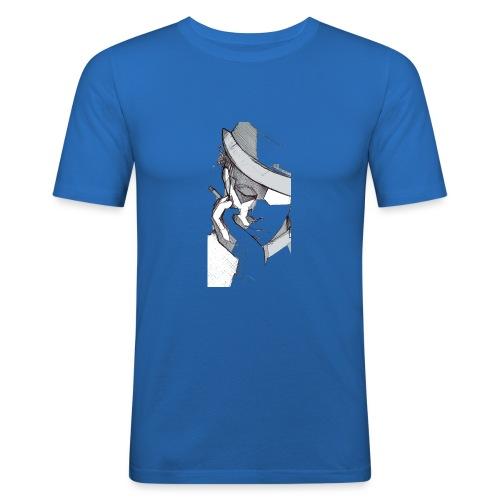 tom2 - Maglietta aderente da uomo