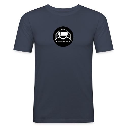 Machine Boy Black - Men's Slim Fit T-Shirt
