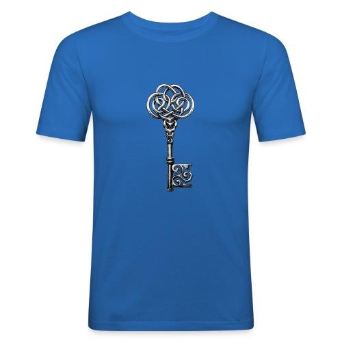 CHAVE-celtic-key-png - Camiseta ajustada hombre