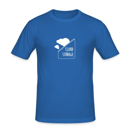 Cloud Storage - Männer Slim Fit T-Shirt