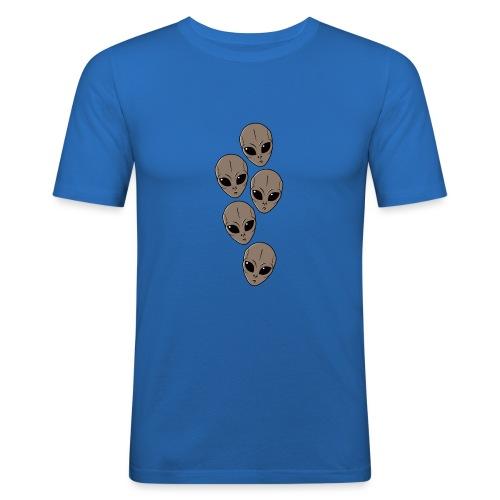 Petits-gris - T-shirt près du corps Homme