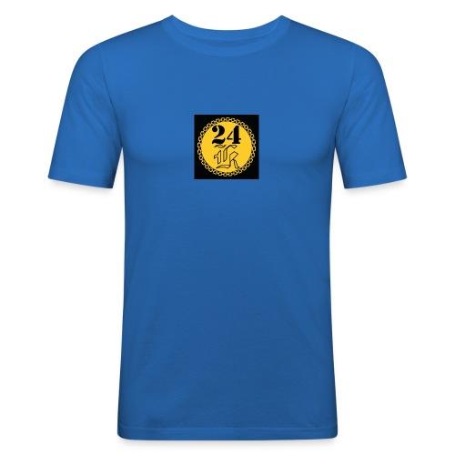24k - Slim Fit T-shirt herr