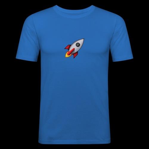cohete - Camiseta ajustada hombre