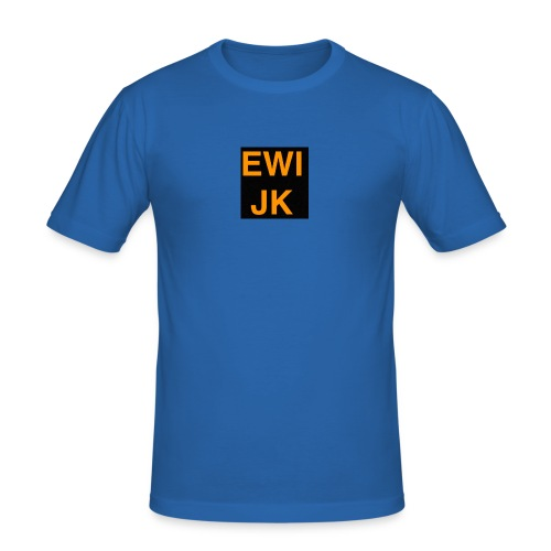 Ewijk - Mannen slim fit T-shirt