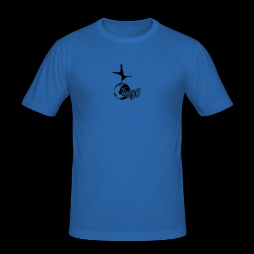 WPF Black - Männer Slim Fit T-Shirt