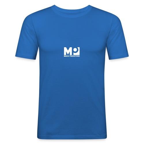 ManigProductions White Transparent png - Men's Slim Fit T-Shirt