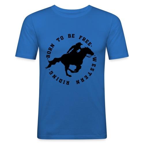 WESTERN HORSES - Obcisła koszulka męska