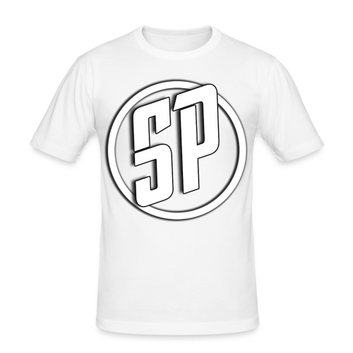 SPLogo - Men's Slim Fit T-Shirt