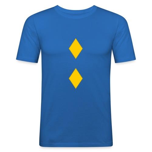 Upseerikokelas - Miesten tyköistuva t-paita