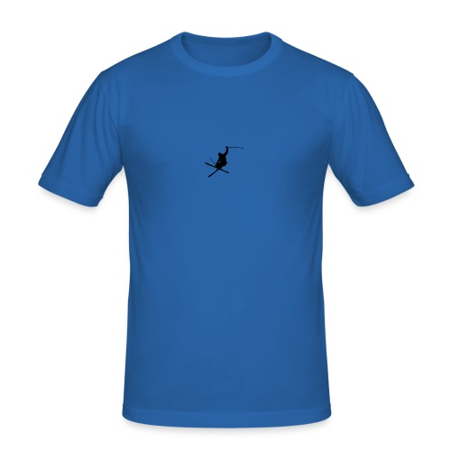 on the mountains - Slim Fit T-shirt herr