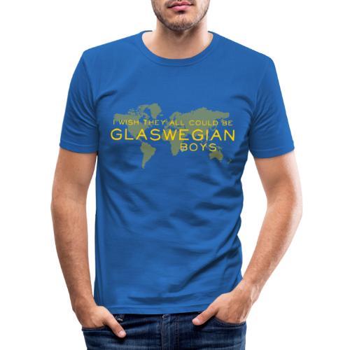 Glaswegian Boys - Men's Slim Fit T-Shirt