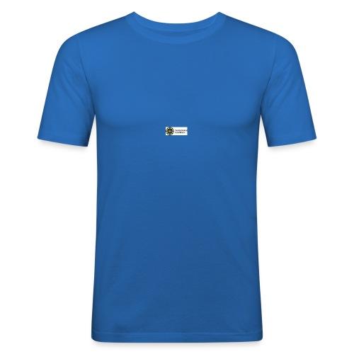 SSB_logo - Slim Fit T-shirt herr