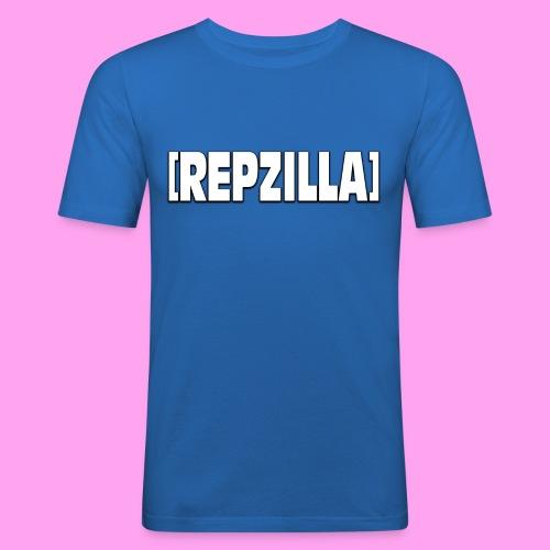 Repzilla Logo - Men's Slim Fit T-Shirt