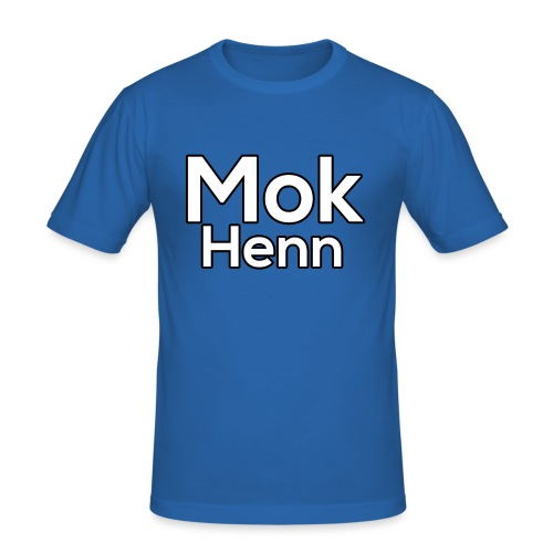 Mok Henn - Mannen slim fit T-shirt